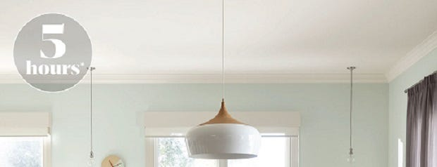 PAINT YOUR CEILING WITH ACCENT®