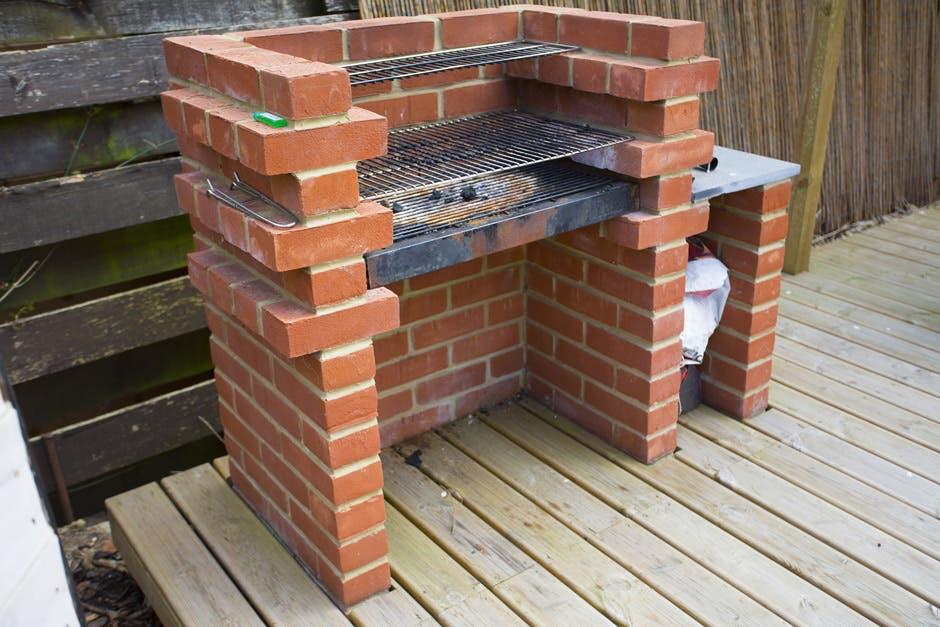 Build a brick BBQ