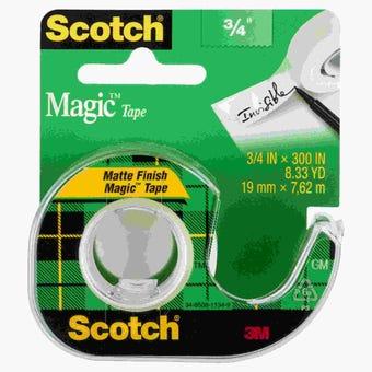 Scotch Magic Tape 19mm x 7.6m 105