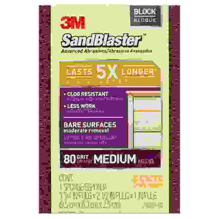 Sandblaster Sanding Block 80 Grit