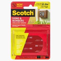 Scotch Mounting Tape Strips 25mm x 7.6m