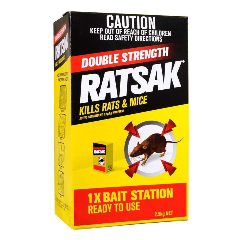 Ratsak Pellets Double Strength 2.5kg