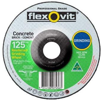 Flexovit Masonry Grinding Wheel 127 x 6.8 x 22.2mm