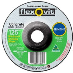 Flexovit Masonry D/C Grinding Wheel 127 x 6.8 x 22.2mm
