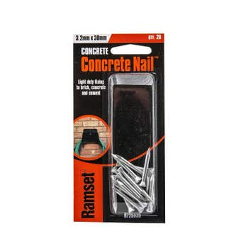 Ramset Concrete Nail Striated 3.2 x 30mm - 20 Pack