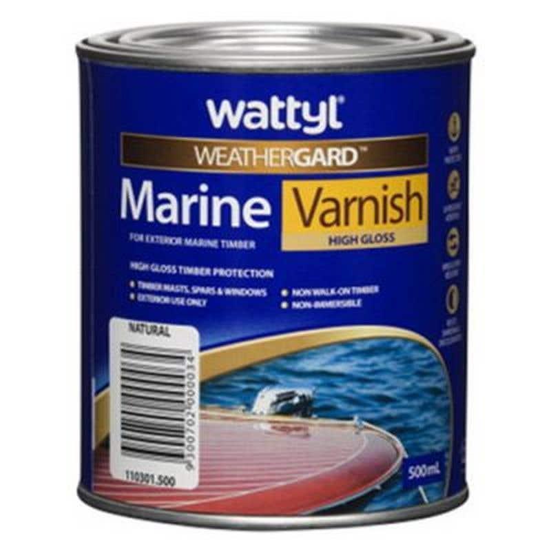 Weathergard Marine Varnish 500Ml