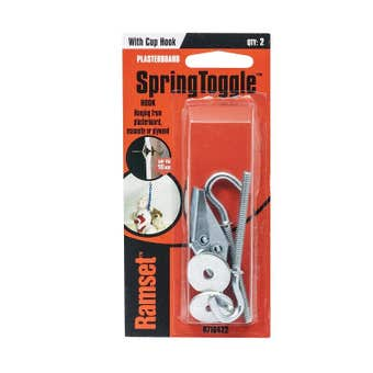 Ramset SpringToggle With Cup Hook 10kg - 2 Pack