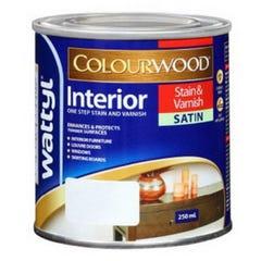 Stain Int C/Wood Sat Teak 500M
