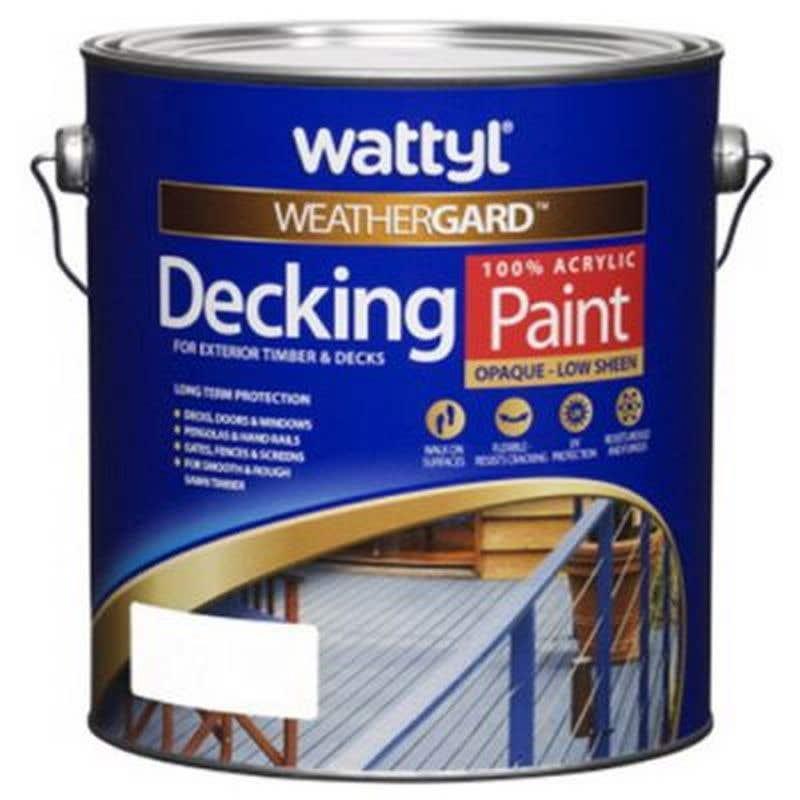 Weathergard Decking Paint Mid 4L
