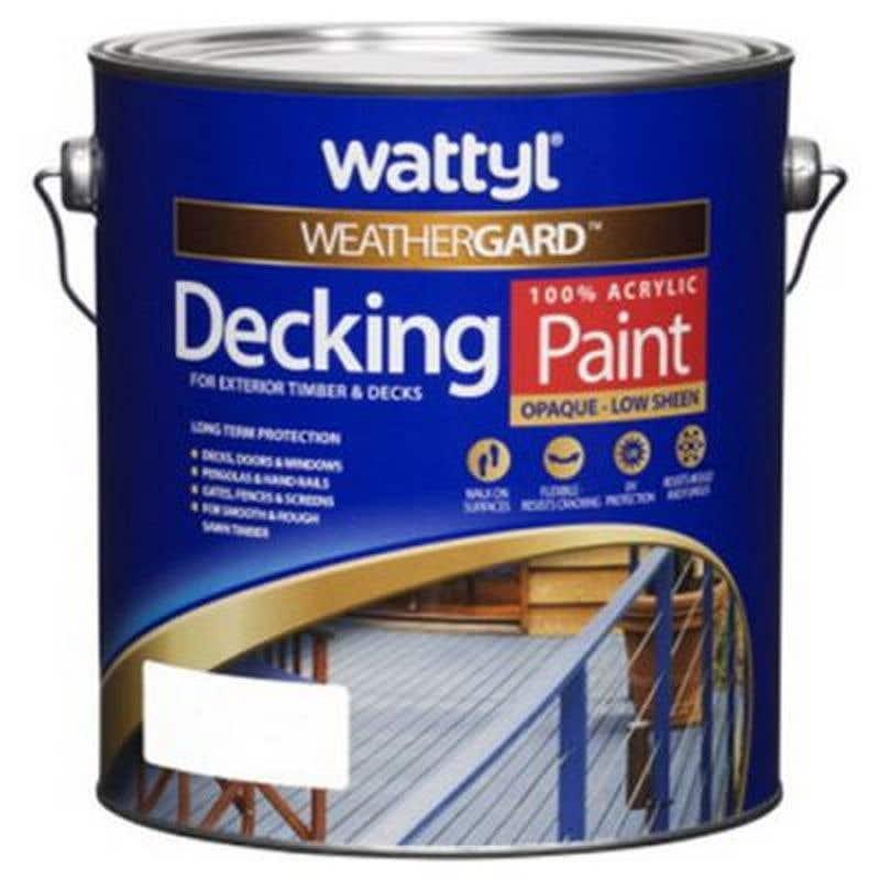 Weathergard Decking Paint Stb 4L