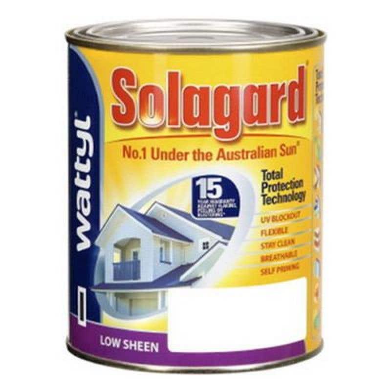 Solagard Low Sheen Blk Base 1L