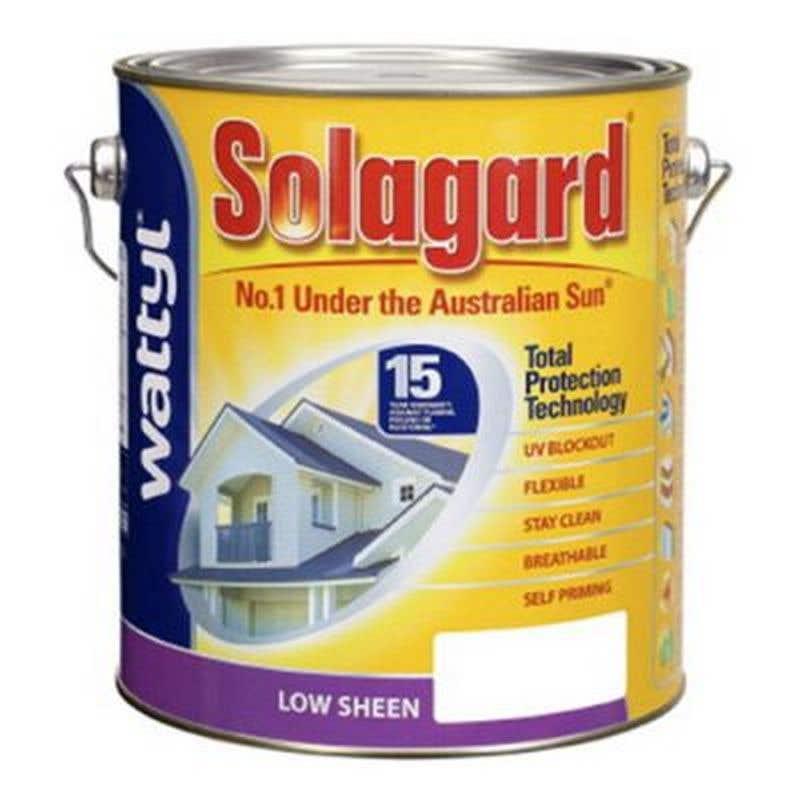 Solagard Low Sheen Blk Base 4L