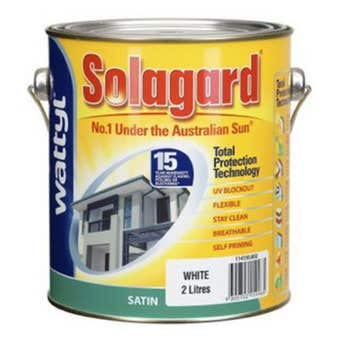 Solagard Satin White 2L
