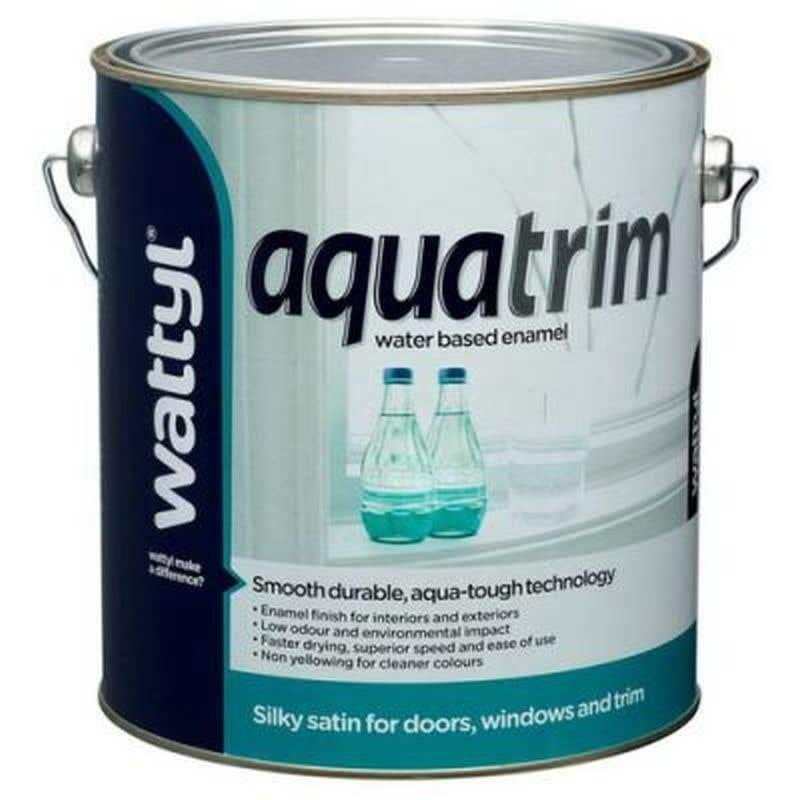 Aquatrim Satin White 1L