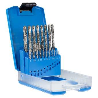 Sutton Tools Silver Bullet Jobber Drill Set Metric - 19 Piece