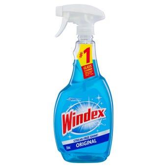 Windex Glass Cleaner Original 750ml