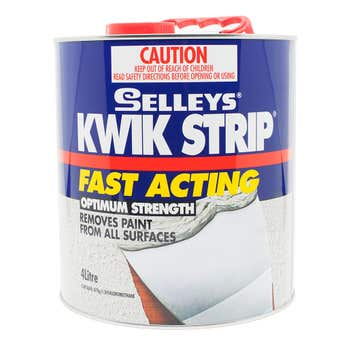 Selleys Kwik Strip Paint Remover 4lt
