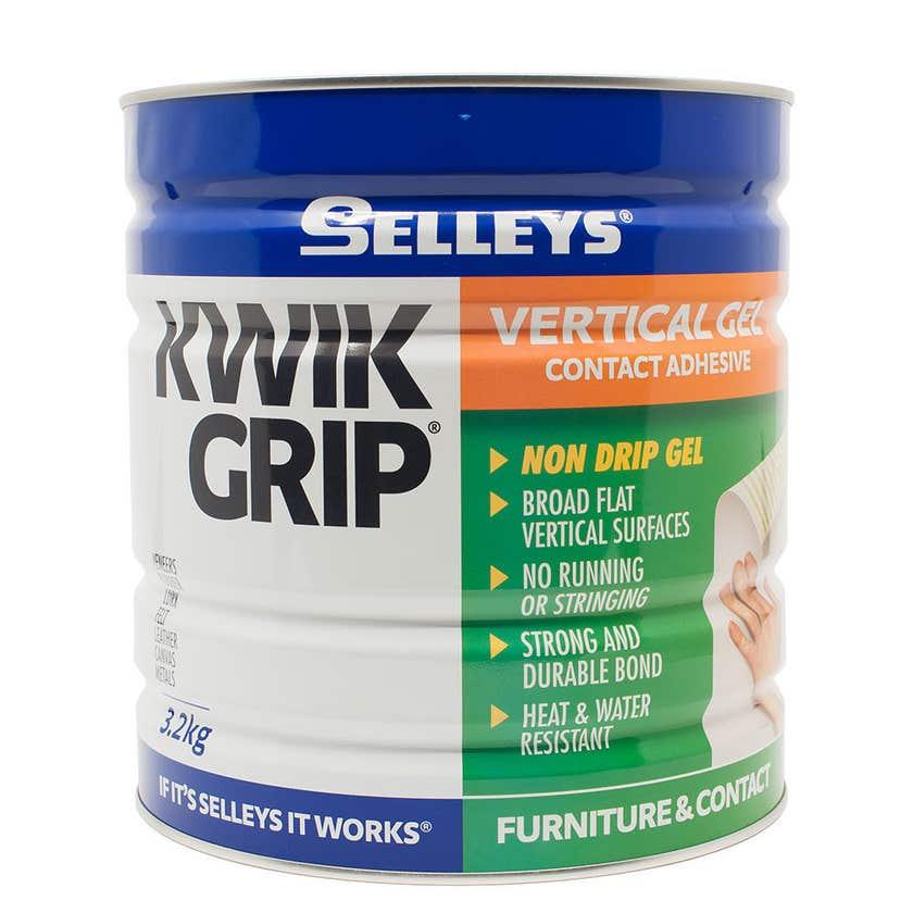 Selleys Kwik Grip Gel Adhesive 3.2kg