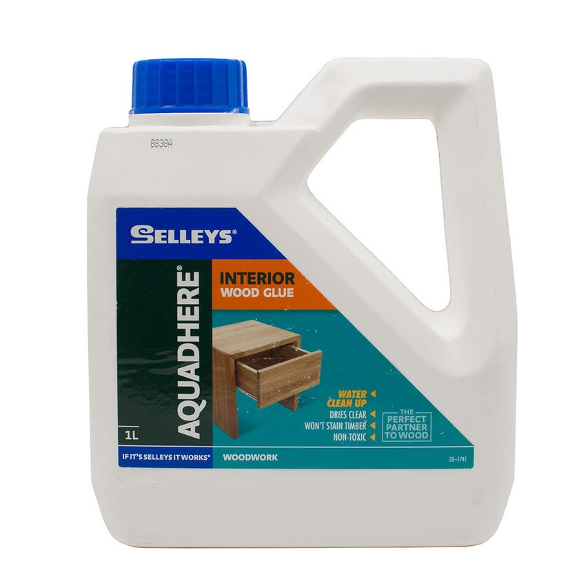 Selleys Aquadhere Interior Adhesive PVA 1L