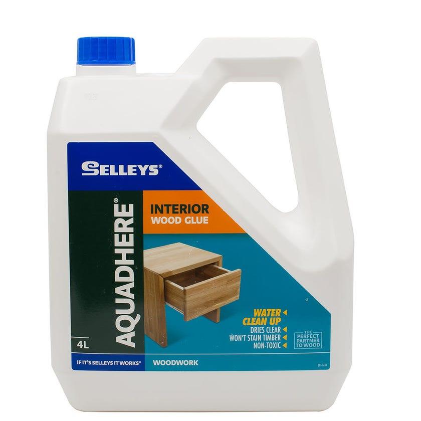 Selleys Aquadhere Interior Adhesive PVA 4L