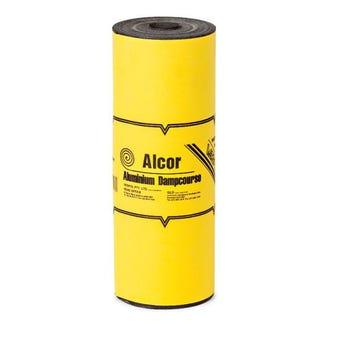Alcor DPC Bitumen Coated Aluminium 300mm x 10m