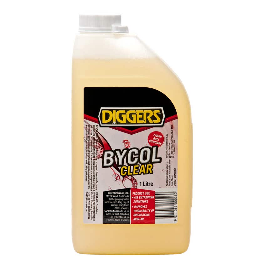 Diggers Bycol Clear Plasticiser 1L