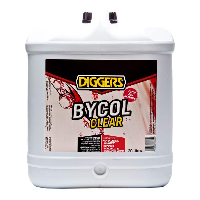 Diggers Bycol Clear Plasticiser 20L