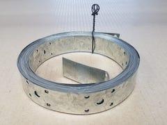 Wilmaplex Hoop Iron 25mm x 0.6mm x 6m Punched