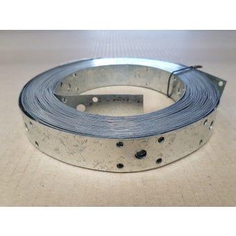 Wilmaplex Hoop Iron 25mm x 0.6mm x 15m Punched