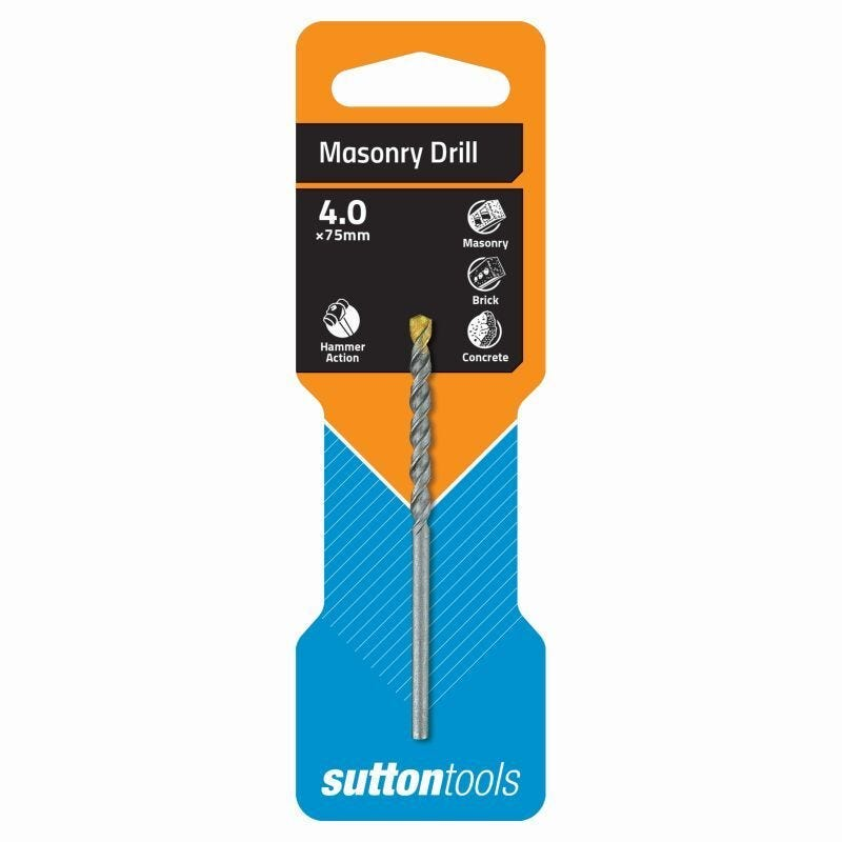 Sutton Tools Masonry Drill Bit Standard Fixing