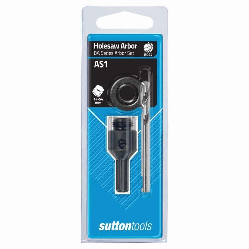 Sutton Tools Quickfit Holesaw Arbor Set AS1