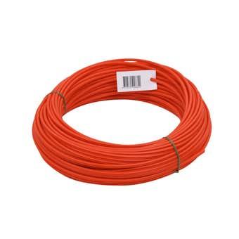 Ramset Roll Plug & Spaghetti Plastic 5.5mm x 50m - 1 Pack