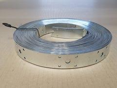 Wilmaplex Hoop Iron 25mm x 0.6mm x 30m Punched