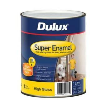 Dulux Super Enamel High Gloss Ultra Deep Base 1L