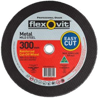 Flexovit Cut Off Wheel Metal 302 x 20mm