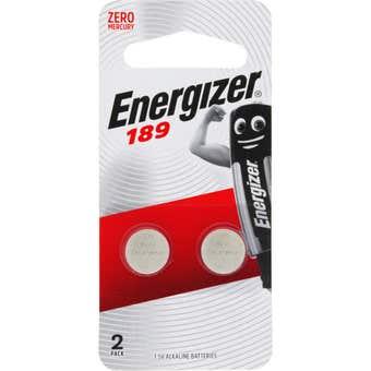 Energizer Coin Battery 1.5V 189 Calculator - 2 Pack
