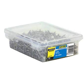 Otter Nail Clout Galvanised 25x2.80mm (2Kg)