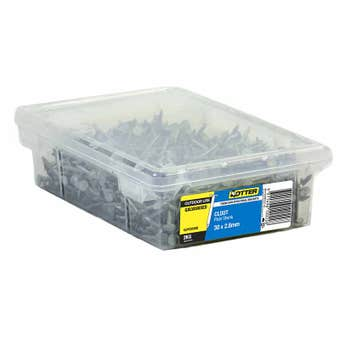 Otter Nail Clout Galvanised 30x2.80mm (2Kg)