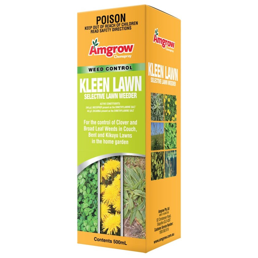Amgrow Kleen Lawn Selective Lawn Weeder 500ml