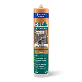 H.B. Fuller Caulk In Colours Cedar 450g