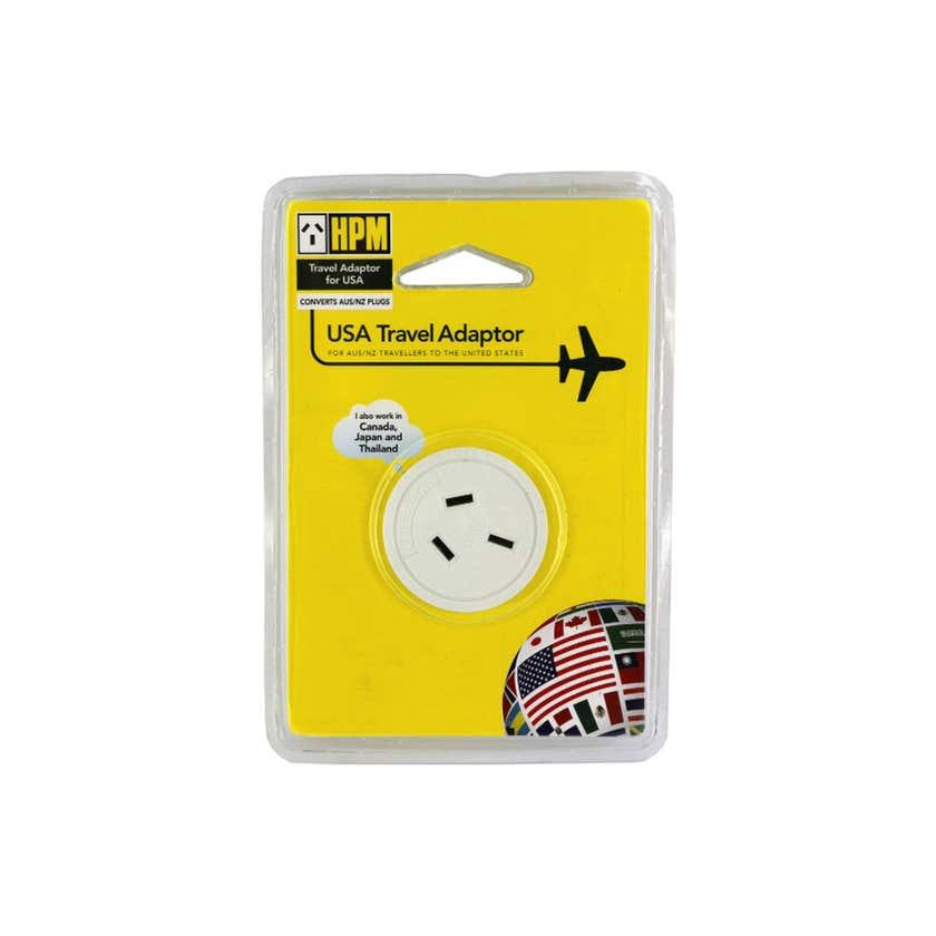 HPM USA Travel Adaptor