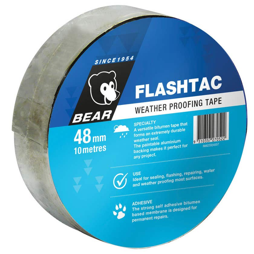 Bear Flashtac Weather Proofing Tape 48mm x 10m
