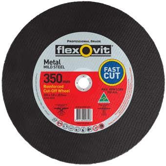 Flexovit Wheel Cut Off Metal 355 x 3.8 x 20mm