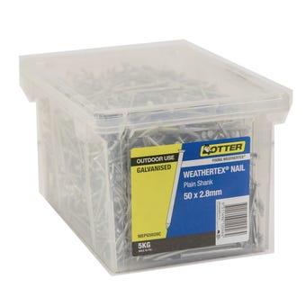Otter Weathertex Nail Galvanised 50 x 2.8mm 5kg