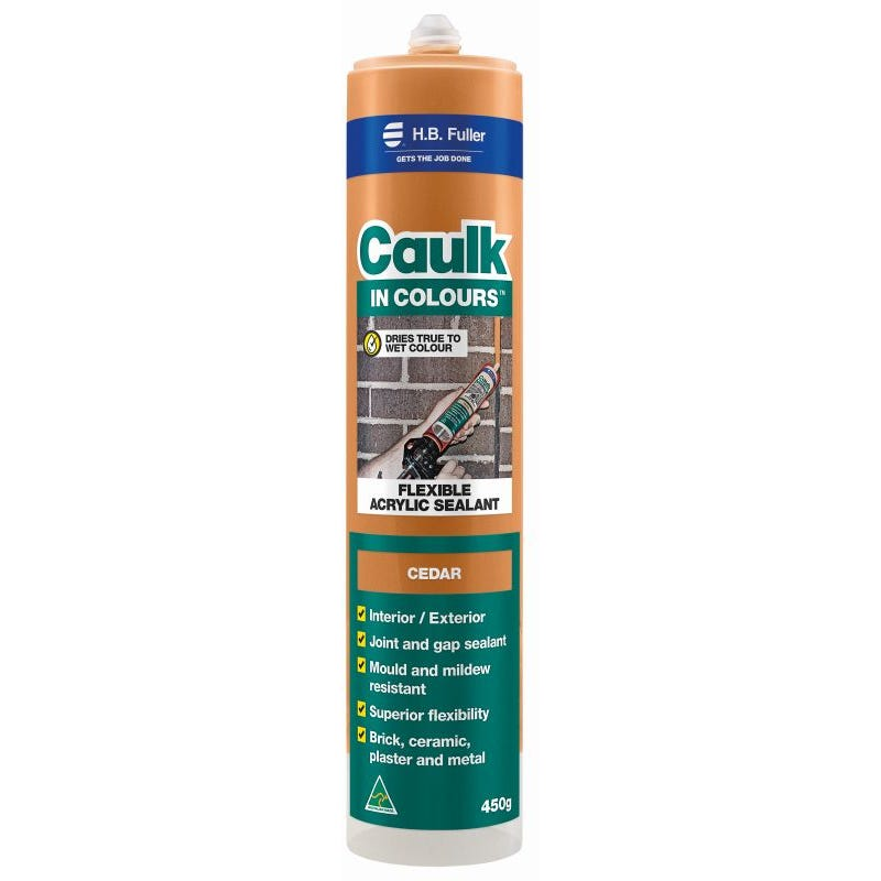 HB Fuller Caulk In Colours™ Cedar 450g
