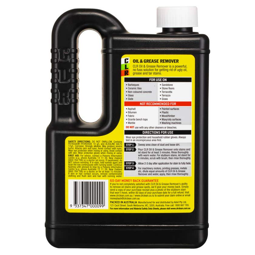 CLR Oil and Grease Remover 750mL