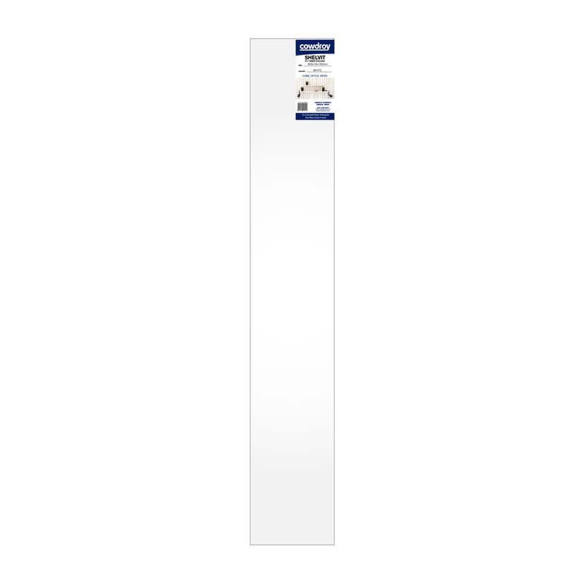 Cowdroy Shelvit Timber Shelf White 900 x 16 x 150mm