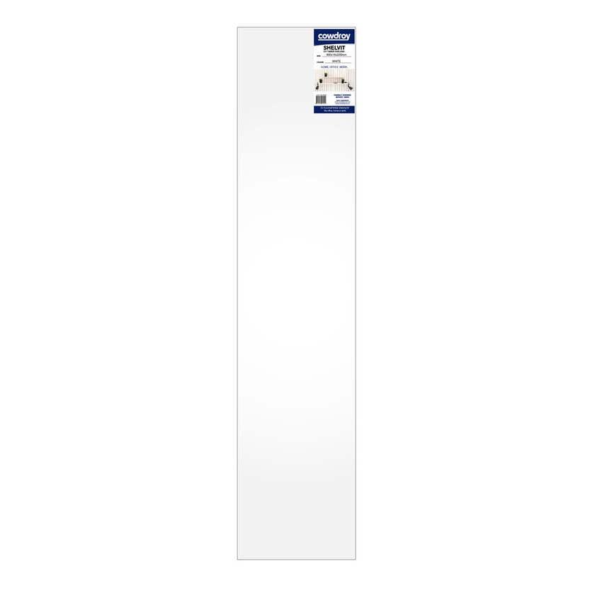 Cowdroy Shelvit Timber Shelf White 900 x 16 x 200mm