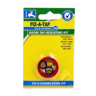FIX-A-TAP Basin Tap Reseating Kit 13mm - 2 Pack