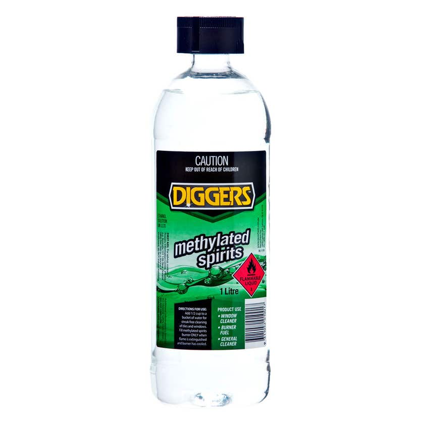 Diggers Methylated Spirits 1L